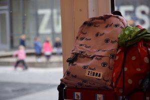 Een tas met ogen