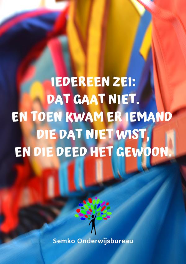 Iedereen zie: Poster nederlands