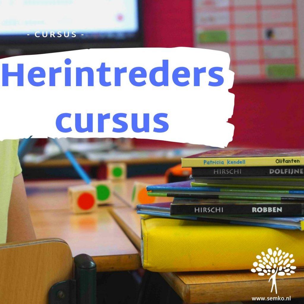 Herintrederscursus leerkrachten basisonderwijs