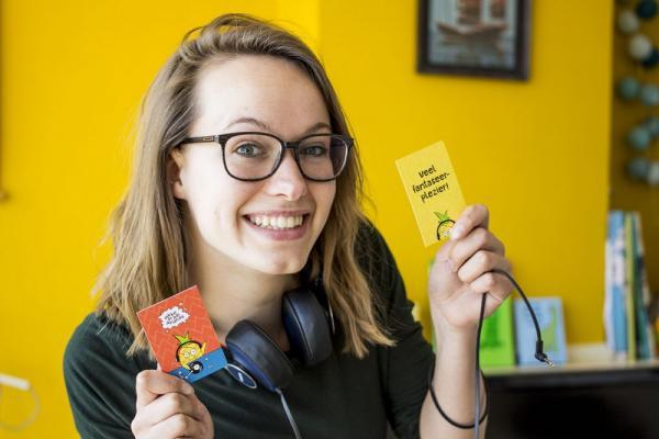 Linda Sinnige is docent creatief denken bij onderwijsbureau Semko