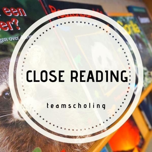 Teamscholing: close reading