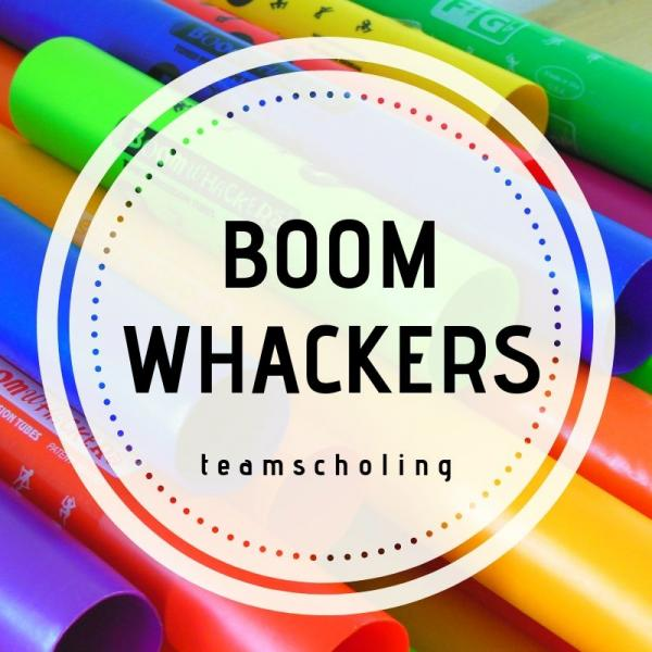 Teamscholing Boomwhackers