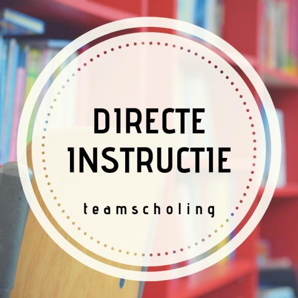 Teamscholing Directe instructie