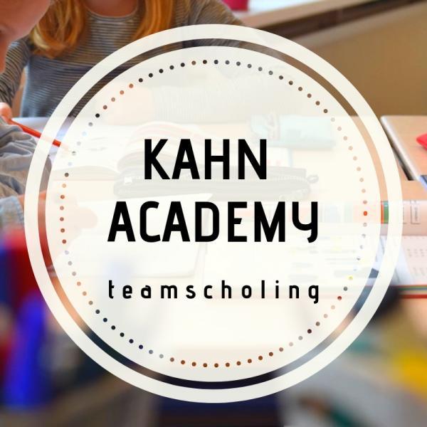 Teamscholing Kahn academy