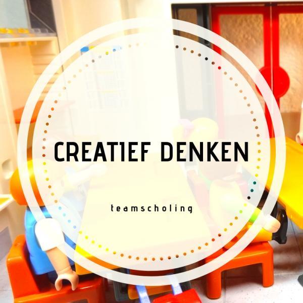 Teamscholing creatief denken