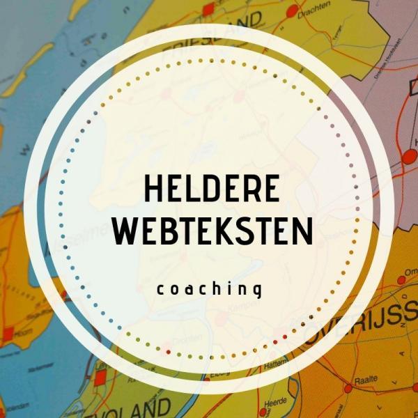 Coaching - heldere webteksten