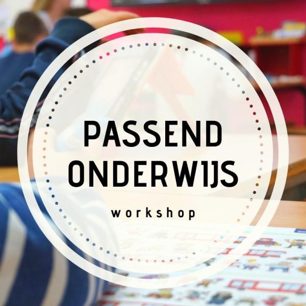 Workshop knop Passend onderwijs