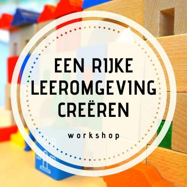 Workshop/teamscholing leeromgeving