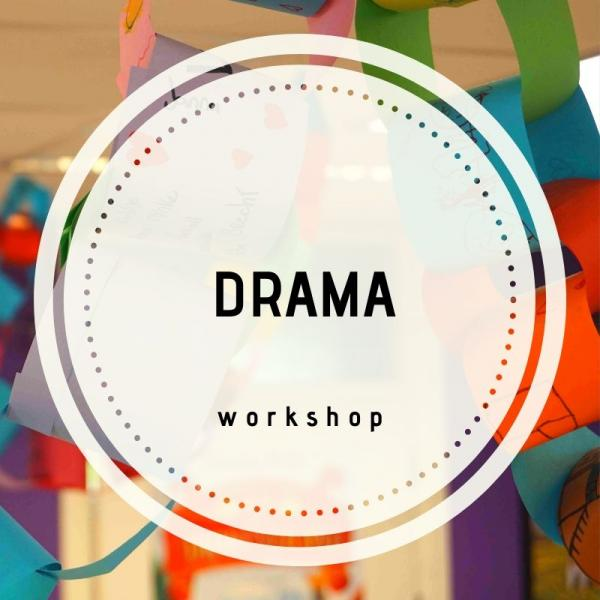 workshop voor kinderen - Drama