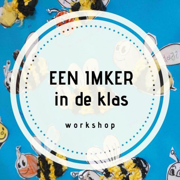 workshop voor kinderen een Imker in de klas